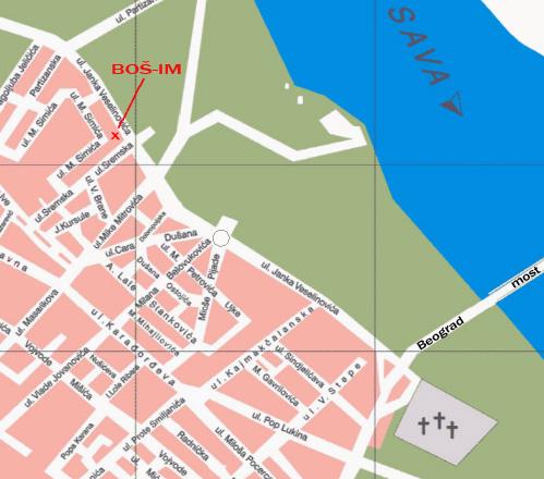 mapa sapca Servis pumpi visokog pritiska | BOŠ I.M. mapa sapca